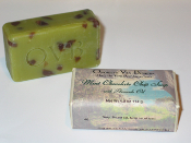 Mint Chocolate Chip Soap 4oz